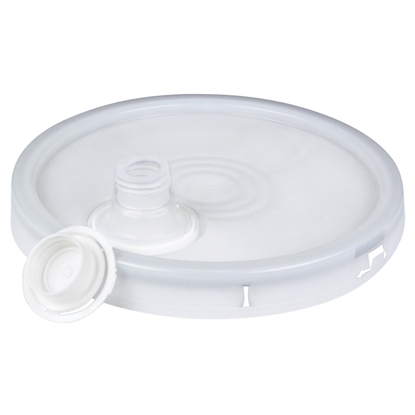 Picture of Bucket Lid with Spout for 5 Gallon Plastic Bucket (GG468)