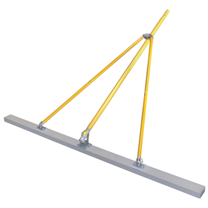 """Picture of Gator Tools™ 12' x 2"""" x 4"""" Diamond XX™ Paving Float Kit with Bracket, Out Riggers, & 3 Handles"""
