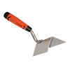 "Picture of 4"" x 1-1/2"" Stainless Steel Outside Corner Trowel with ProForm® Handle"