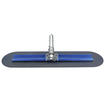"Picture of 24"" Big ""D"" Blue Steel Bull Float with EZY-Tilt® II Bracket"