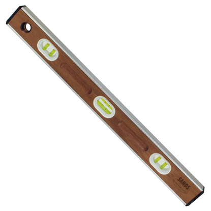 "Picture of 24"" Professional Mahogany I-Beam Level (6 Vials)"