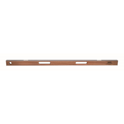 "Picture of 48"" Professional Asphalt Mahogany I-Beam Level (2 Vials)"