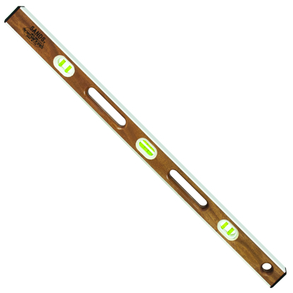 "Picture of 36"" Professional Mahogany I-Beam Level (6 Vials)"