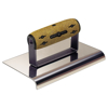 "Picture of 10"" x 6"" 1/2""R Elite Series Five Star™ Stainless Steel Highway Edger with Cork Handle"