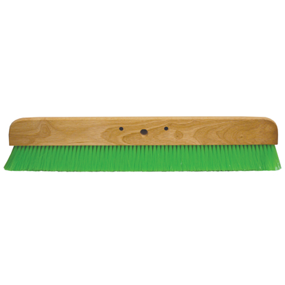 "Picture of 24"" Green Nylex® Soft Finish Broom Head"