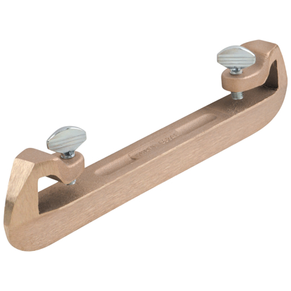 "Picture of 3/4"" Bronze Bull Float Groover Attachment"