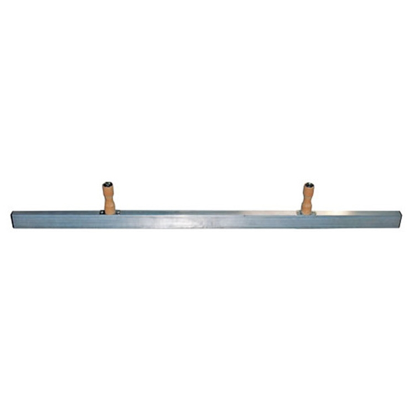 "Picture of 48"" Curb Forming Straightedge with 2 Knob Handles"