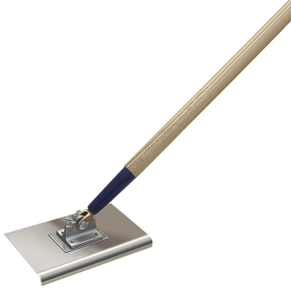 "Picture of 10"" x 6"" 1/2""R Single Action Walking Edger with Handle"