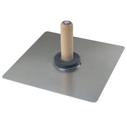 "Picture of 13-1/2"" x 13-1/2"" Magnesium Hawk with Wood Handle"