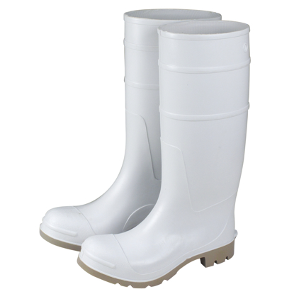 "Picture of 16"" White Over-The-Sock Boots - Size 13"