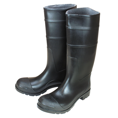"Picture of 16"" Black Over-The-Sock Construction Boots - Size 8"