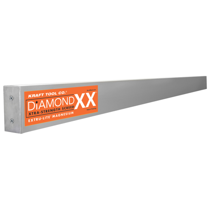 "Picture of 12' x 1-1/2"" x 3-1/2"" Diamond XX™ Magnesium Screed"