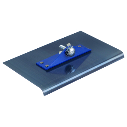 "Picture of 9"" x 12"" 3/8""R 2-Way Blue Steel Walking Edger"