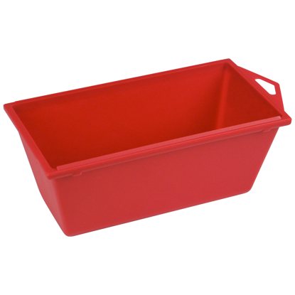 "Picture of 6"" Mini Plastic Mud Pan with Rounded Bottom"