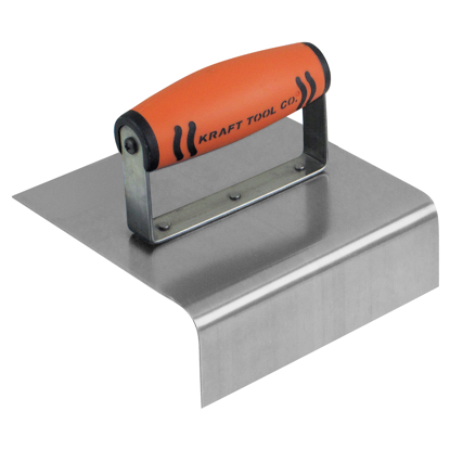 "Picture of 6"" x 6"" 1""R Outside Curb & Sidewalk Tool with ProForm® Handle"
