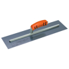 "Picture of 12"" x 4"" Blue Steel Cement Trowel with ProForm® Handle"