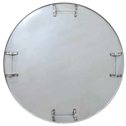 "Picture of 38-1/4"" Diameter ProForm® Flat Float Pan with Safety Rod (4 Blade)"