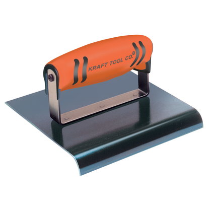"Picture of 6"" x 3""  1/4""R Blue Steel Edger with ProForm® Handle"