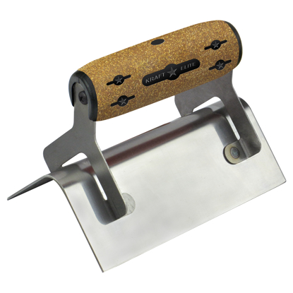 "Picture of 6"" x 2-1/2""  1/2""R Elite Series Five Star™ Outside Step Tool with Cork Handle"