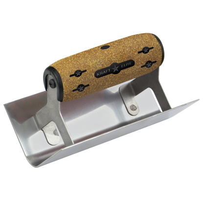 "Picture of 6"" x 2-1/2""  1/2""R Elite Series Five Star™ Inside Step Tool with Cork Handle"