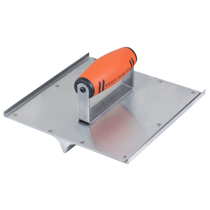 "Picture of 10"" x 10"" 3/4""R, 7/8""D Stainless Steel Seamer/Groover with ProForm® Handle"