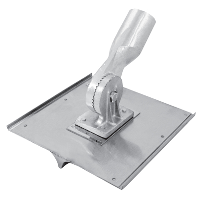 "Picture of 10"" x 10"" Stainless Steel Walking Seamer/Groover 1/2""R with Button Handle Socket"