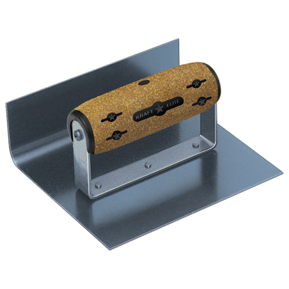 "Picture of 6"" x 5"" x 2"" Elite Series Five Star™ Blue Steel Inside Jr Step Tool with Cork Handle"