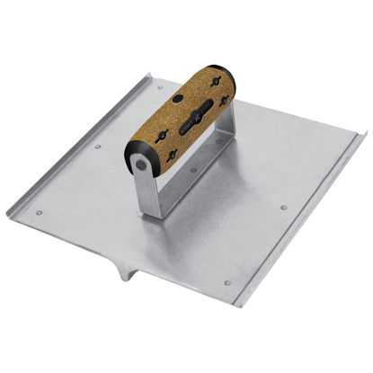"Picture of 8"" x 8"" 3/4""R, 7/8""D Elite Series Five Star™ Stainless Steel Hand Seamer/Groover  with Cork Handle"