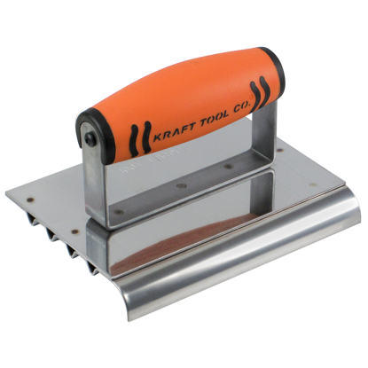"Picture of 6"" x 4-1/2"" 1/4""R Edger Safety Step Edger/Groover with ProForm® Handle"